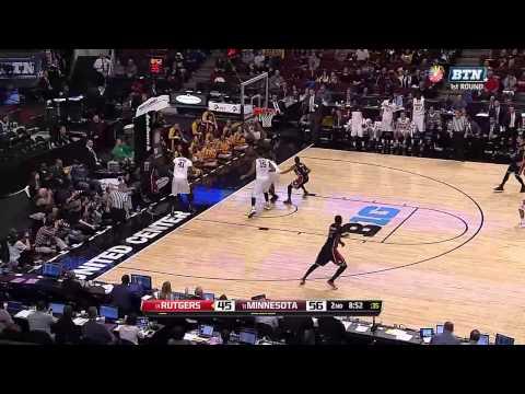 Rutgers vs  Minnesota   2015 Big Ten Men