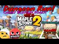 Maple Story 2 F2P // 1st Impressions  // 1st Dungeon Run Cherry Blossom Forest // Lv 17 thief