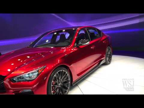 Infiniti Shows Off Its Q50 Sports Sedan Concept