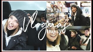 WE LOST OUR MINDS ON THE EURO TUNNEL | VLOGMAS