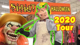 Spirit Halloween 2020 Store Tour In An Abandoned Michaels