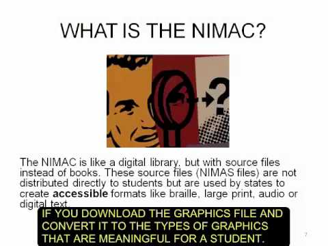 Accessible Instructional Materials