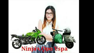 Nella Kharisma milih  Ninja Opo Vespa