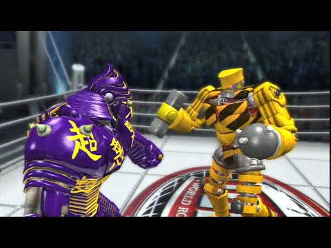 REAL STEEL THE VIDEO GAME - TOOLBOX Vs NOISY BOY & TWIN CITIES, ZEUS