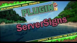 [FR] Minecraft Plugin Bukkit - ServerSigns - Activer des commandes à partir de panneaux !