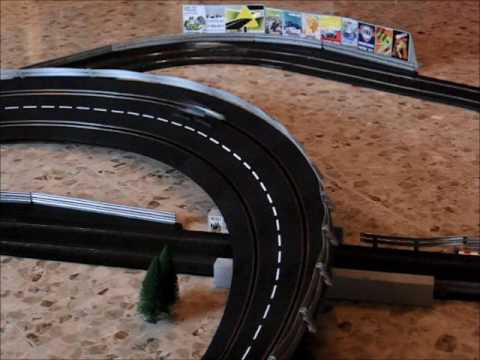 Monza 1966 F1 Grand Prix – slot car reenactment on Scalextric/Carrera track