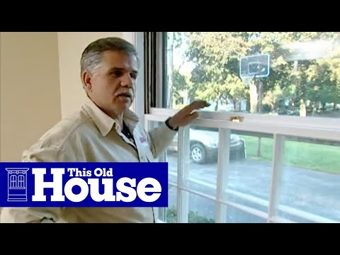 How to Install a Storm Window - This Old House