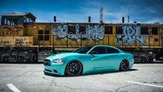 Blaque Diamond Dodge Charger RT with BD-8 Wheels