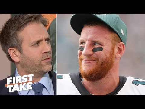 Everyone is giving Carson Wentz a pass!  Max Kellerman | First Take