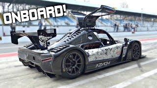 Radical RXC Turbo 500 Street-Legal Chasing Audi R8 GT3 at Monza! - OnBoard Best Lap 1.52.17