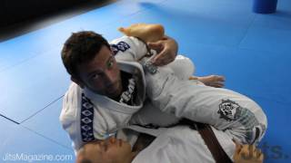 Passing deep De La Riva guard – Shawn Williams PART 2 – Jits Magazine