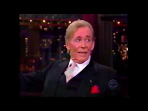 Peter O'Toole  on Letterman  The Late  1998