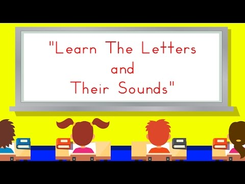 Learn The Letters and Their Sounds | Learn The Alphabet | ABC Song | Jack Hartmann