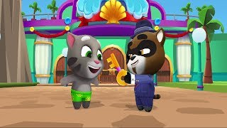 Talking Tom Pool Android Gameplay