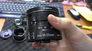 Нет автофокуса / Клинит кольцо фокусировки. Объектив Canon EF-S 18-55. Восстановление шестерни