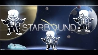 HOW TO MAKE SANS FROM UNDERTALE (STARBOUND MOD SHOWCASE)