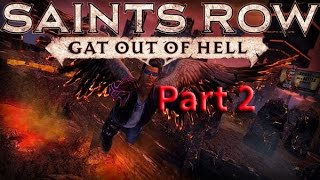 Saints Row Gat Out of Hell Walkthrough Gameplay Part 2-Pirates and Poetry