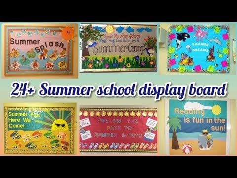 24+ Summer School Display Board Ideas    Summer Notice Board Ideas For School