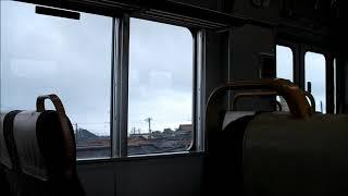 JR北陸本線 金沢ゆき普通 小松駅発車~明峰駅到着