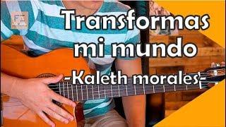 Transformas Mi Mundo - Tutorial de Guitarra | FZ academia