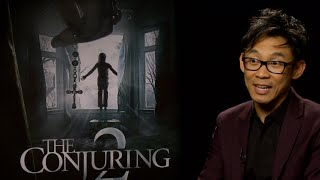 HipHollywood's Jasmine Simpkins sat down with director James Wan, who told us while shooting 'The Conjuring 2,' there was a Catholic priest who came to ...