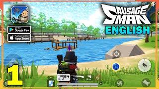 Sausage Man English Gameplay (Android, iOS) - Part 1 screenshot 3