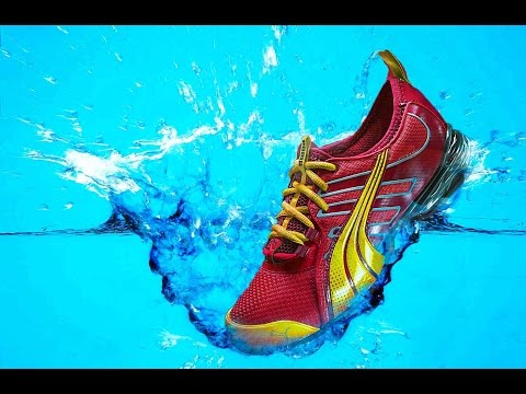 How to Make Shoe Photoshop Manipulation - Advertising Poster - Water Splash Manipulation