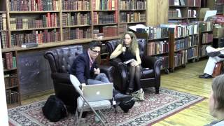 Alison Bechdel Talks with Katie Roiphe