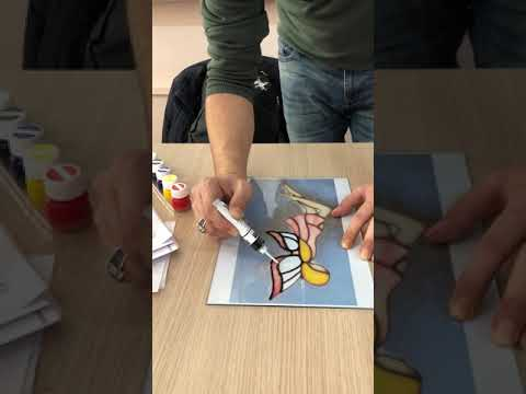 Vitray çalışması Cam Boyamanedir Ve Nasıl Yapılır Youtube