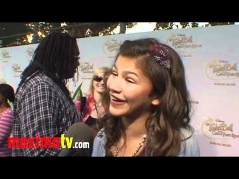 "Zendaya Coleman Interview at ""Tinker Bell And The Great Fairy Rescue"" Screening"