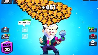 BYRON NONSTOP to 500 TROPHIES! Brawl Stars