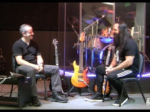 John Petrucci interview at the Raleigh Music Academy (RMA)