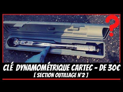 Test de la Clé dynamométrique CARTEC 🔧🔩