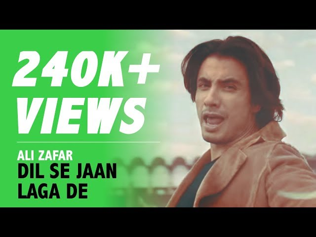Ali Zafar | Dil Se Jaan Laga De | Pakistan Super League (PSL) 3 | Anthem | Full Song