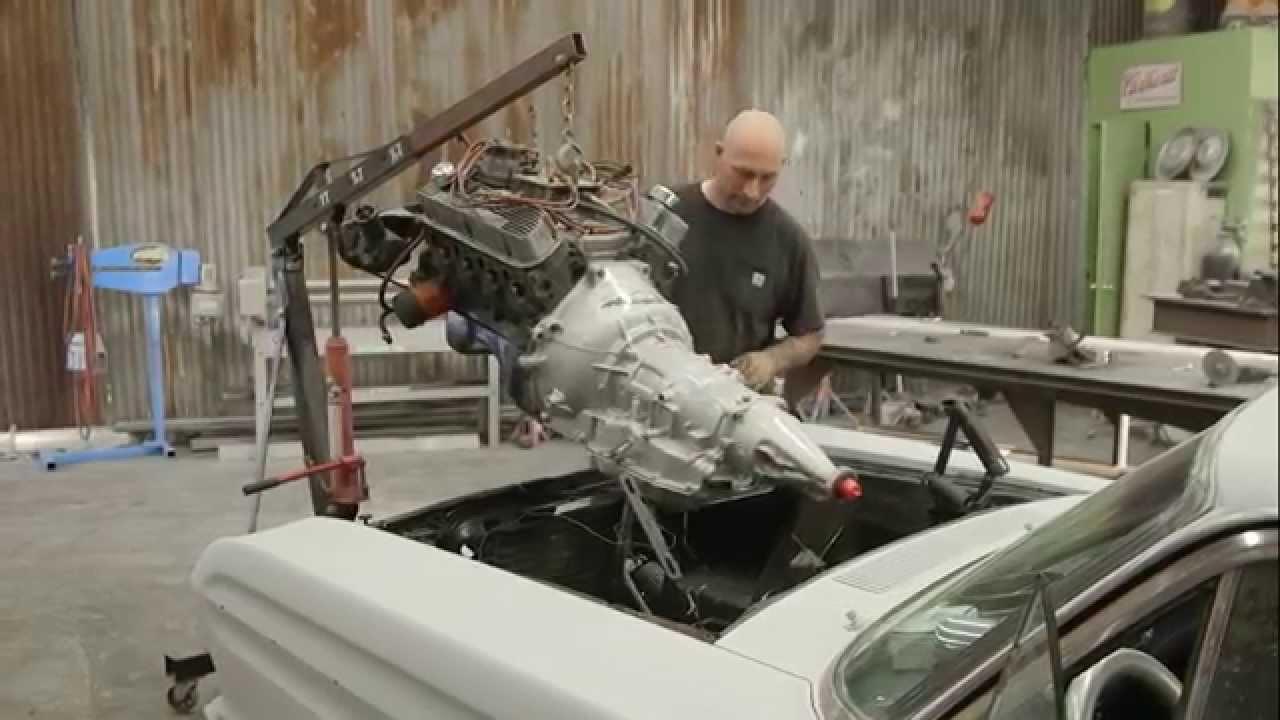 Full Custom Garage  Monster Transmission  Two Falcons ...