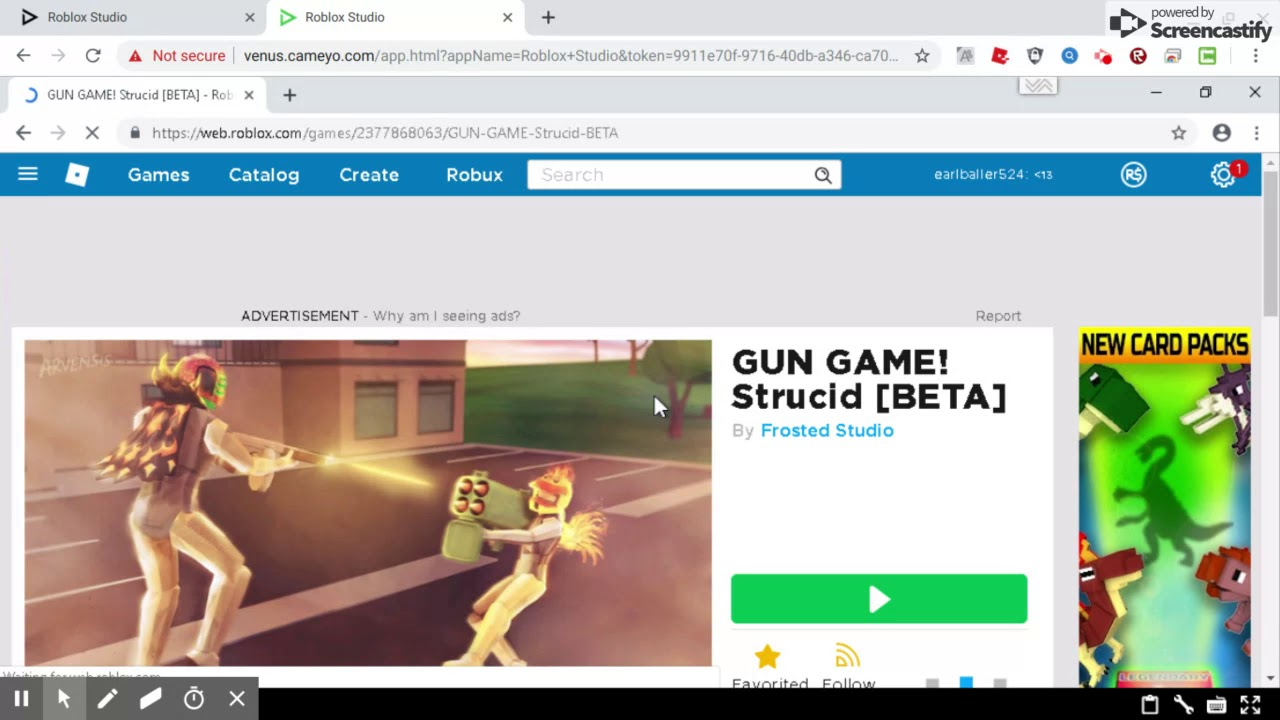 This Is How To Play Roblox On Chromebook Or A Pc Game On It Youtube