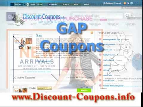 Gap Coupon Code - Gap Coupon 2014