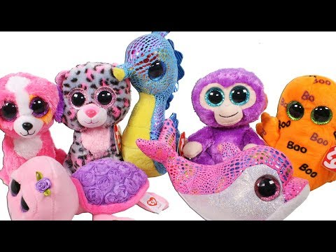 1c8ef585b41 Beanie Boo Haul from the TY Store Online Unboxing Toy Review TY Beanie Boos  Plush