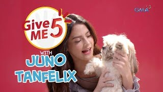 WATCH: Give Me 5 with Juno Tanfelix
