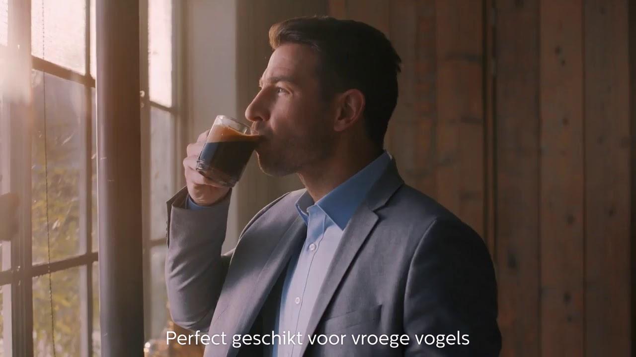 video Philips 5000 serie EP5360/10 Volautomaat Espressomachine – Zwart