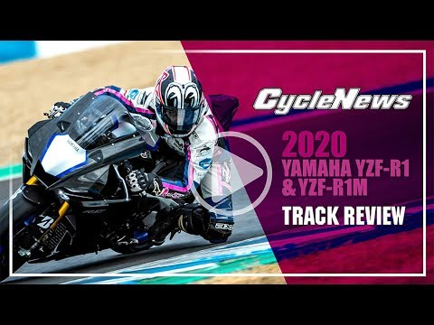 2020 Yamaha YZF-R1 and YZF-R1M Track Review - Cycle News