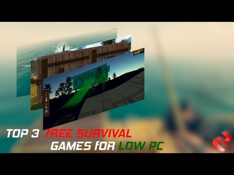 Top 3 Free Survival Games for low PC - YouTube