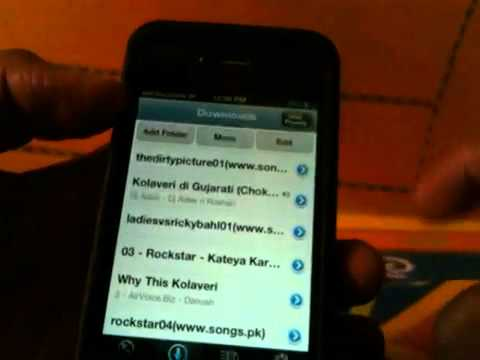 """free music"" iPhone 4/4S download songs on the go"