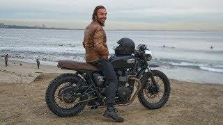 CUSTOMIZING MY TRIUMPH BONNEVILLE MOTORCYCLE | BRITISH CUSTOMS MOTO CONVERSION