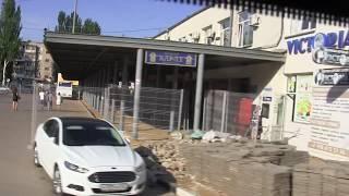 Автовокзал в  Керчи-опутали решётками.Ахтунг ! Заборонено !Кладбище коррупции поливают.