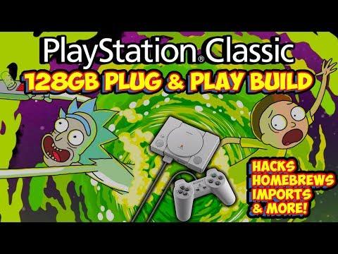 new-128gb-playstation-classic-hack-build!-homebrews,-imports,-hacks-&-more!