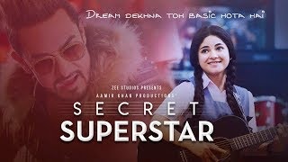 Gambar cover Secret Superstar - Official Trailer | Zaira Wasim | Aamir Khan | Superhit Hindi Movie