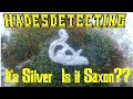 Have i found saxon silver?See what you think...minelab detecting
