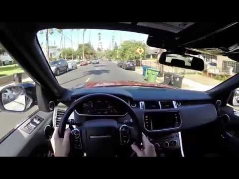 2014 Range Rover Sport WR TV POV City Drive