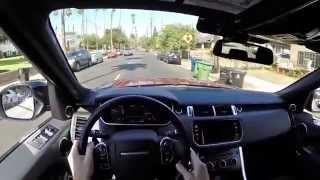 2014 Range Rover Sport - WR TV POV City Drive